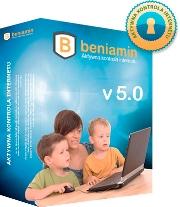 Beniamin© jest programem zapewniającym bezpieczny dostęp do zasobów sieci Internet.